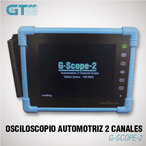Osciloscopio Automotriz 2 Canales 100MHZ G-SCOPE-2