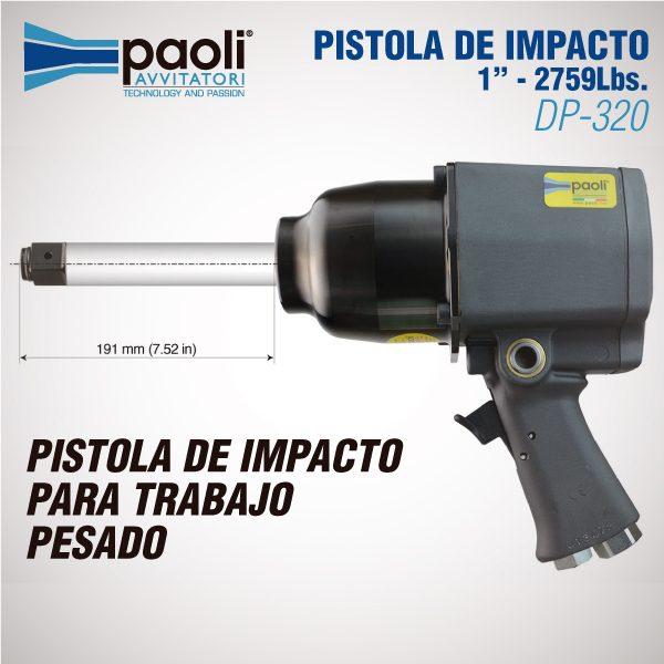 PISTOLA DE IMPACTO PAOLI 320 AL