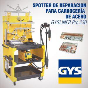 Spotter de reparación para carrocería de acero - Gysliner