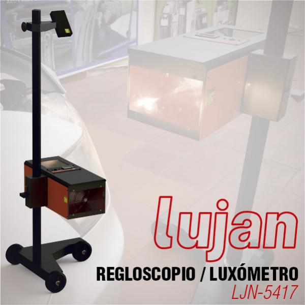 Regloscopio/Luxómetro Manual Doble Láser