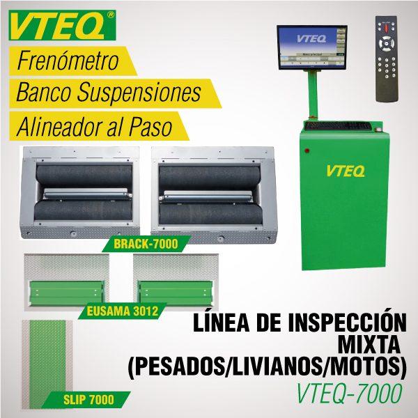 Línea de Inspección Vehicular MIXTA