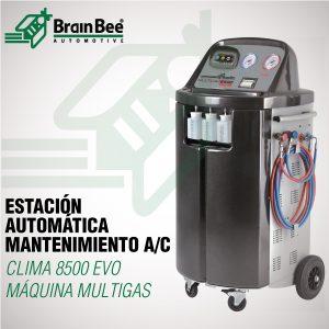 Estación automática MULTIGAS mantenimiento A/C