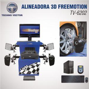 Alineadora 3d techno vector