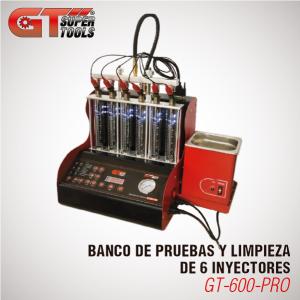 Banco de Pruebas y Limpieza de 6 Inyectores
