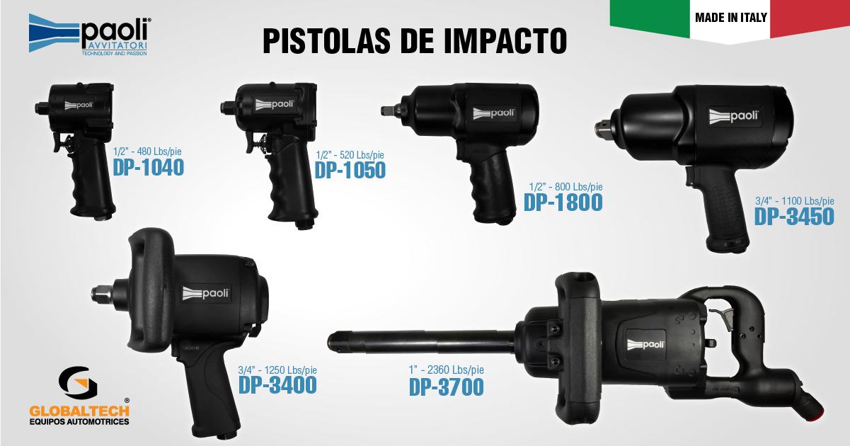 PISTOLA DE IMPACTO 3/4 PAOLI